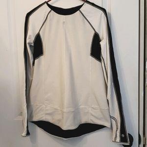 Ladies long sleeve jogging top